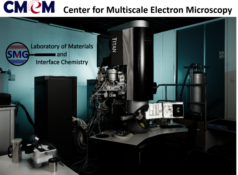 The cryo-electron microscope that was used for this discovery. It forms the basis for the Eindhoven Center for Multiscale Electron Microscopy (CMEM). Photo: CMEM / TU Eindhoven