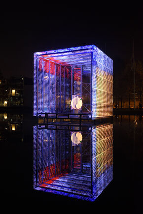 Photonic modulation of light and space. Foto | Bart van Overbeeke